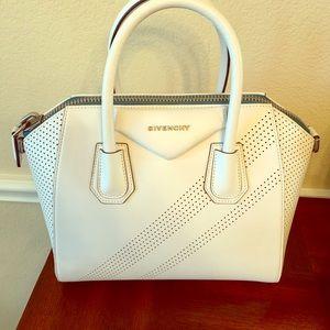 Givenchy White Antigona Bag